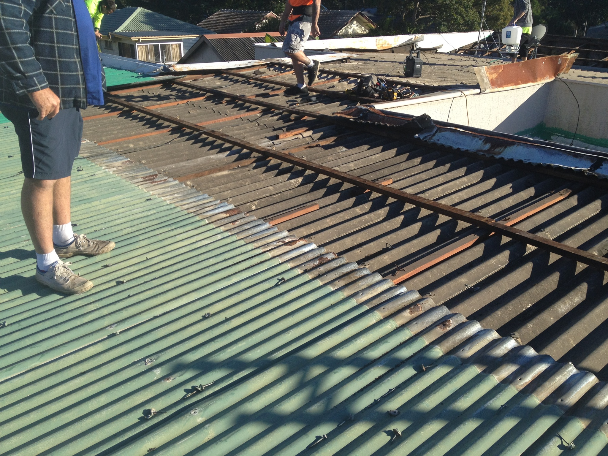 Asbestos Re Roofing Brisbane