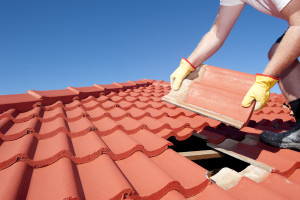 Roof Restoration tiles replacement