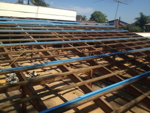 Metal Battens in Roof Replacement