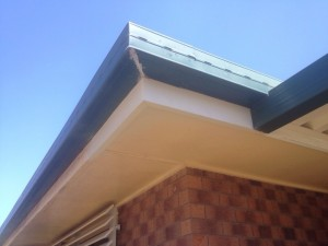 Timber fascia repairs are most easily performed on the ends of the timber.